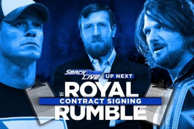 WWE Smackdown: AJ Styles, John Cena sign contract, The Miz defends against Dean Ambrose