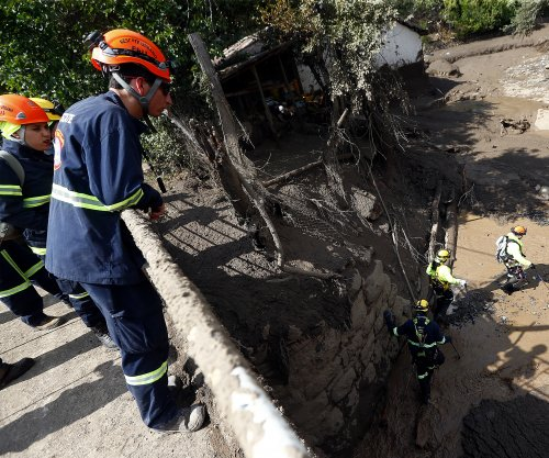 Heavy rains in Chile cause floods, landslides that kill 3
