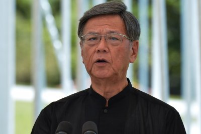 Okinawa governor who opposed U.S. base relocation dies