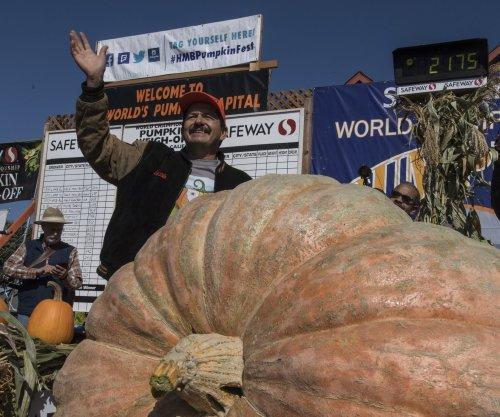 California man's 2,175-pound pumpkin sets new state record
