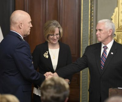 Gen. John Raymond sworn in as head of Space Force