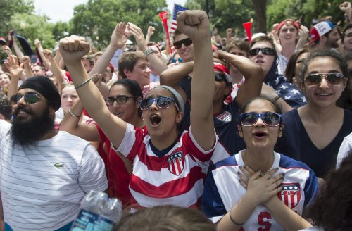 Washington gets in the spirit of the World Cup