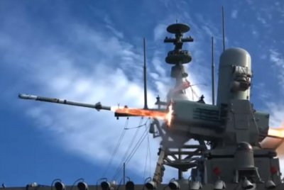 First SeaRAM missile fired from U.S. Navy littoral combat ship