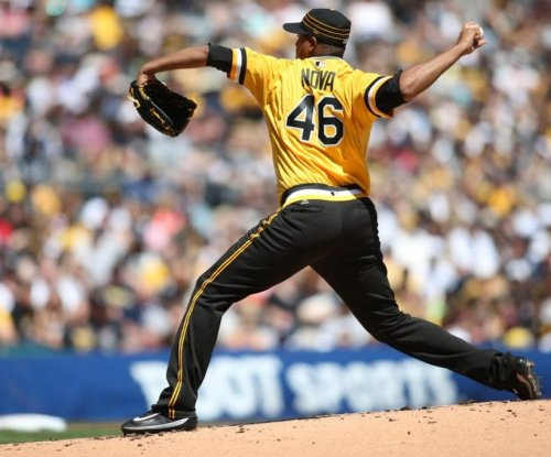 Former New York Yankee Ivan Nova dominates in Pittsburgh Pirates' 2-1 victory