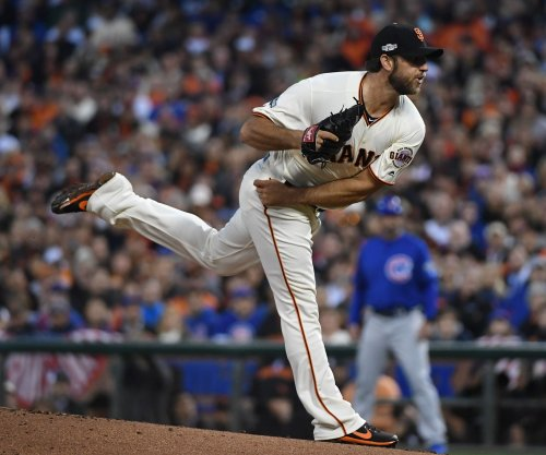 San Francisco Giants pitcher Madison Bumgarner expected to face live hitters this week
