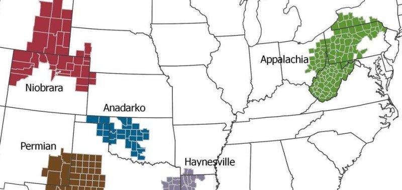 Anadarko shale basin lands Oklahoma on EIA map - UPI com