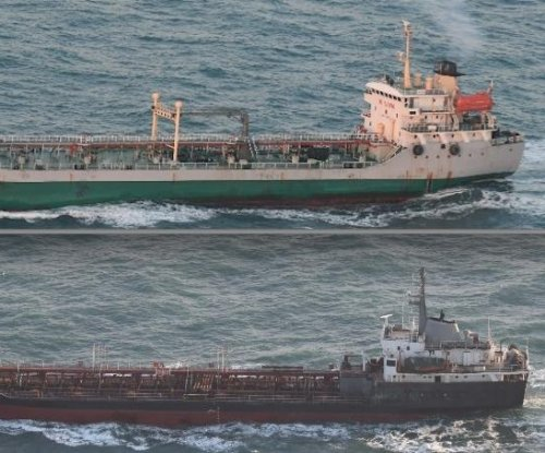 Report: Ship making illicit North Korea transfer is of Chinese origin