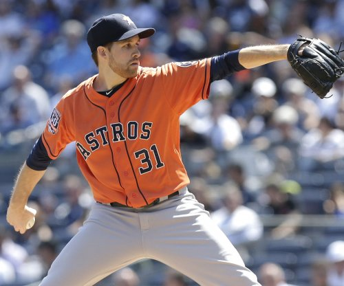 Houston Astros' Collin McHugh, Evan Gattis too much for Los Angeles Angels