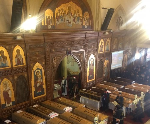 Suicide bomber behind attack on Coptic Christian church in Cairo, president says