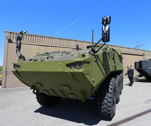 First Piranhas delivered to Danish military