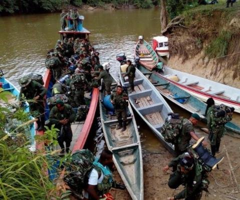 Colombia's FARC rebel group 30% finished with disarmament