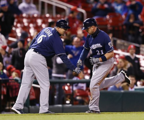 Travis Shaw's RBI helps Milwaukee Brewers earn split with St. Louis Cardinals