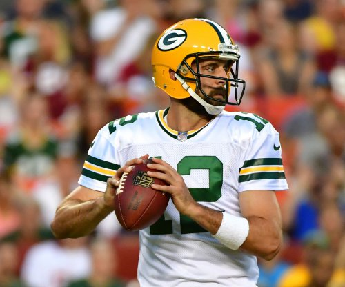 Green Bay Packers QB Aaron Rodgers sharp in cameo vs. Washington Redskins