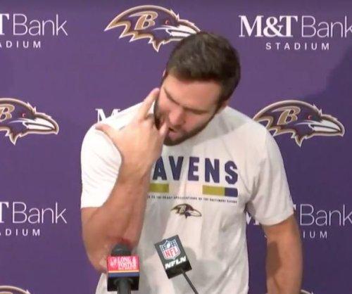 Baltimore Ravens QB Joe Flacco mocks Jameis Winston in postgame presser