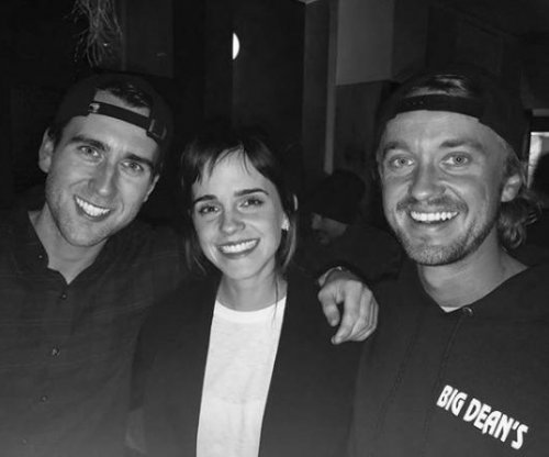 'Harry Potter' stars Tom Felton, Emma Watson reunite