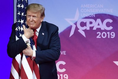 Trump teases new executive order in 2-hour CPAC speech