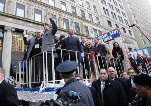 New York celebrates Super Bowl Champion Giants