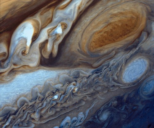 Jupiter's Great Red Spot is heating the gas giant's upper atmosphere