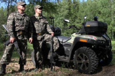 Russia's Arctic infantry to defend Chukotka on quad bikes
