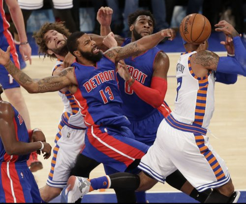 Detroit Pistons C Andre Drummond fined $15,000 for flagrant elbow