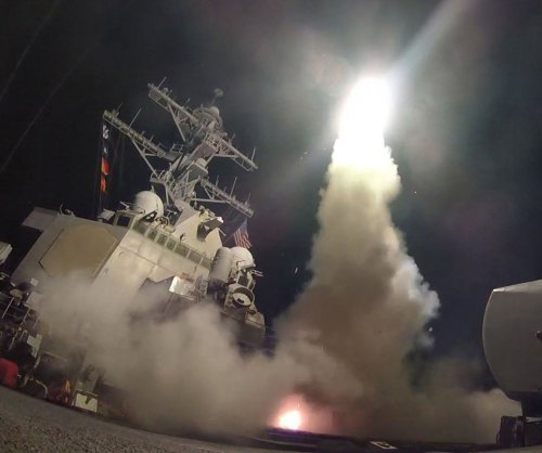 U.S. strikes Syria; Trump fires 59 missiles in 'vital national security interest'