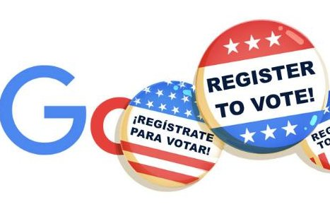 Google promotes registering to vote in new Doodle