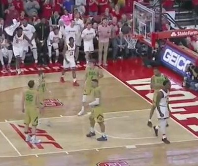 No. 25 Notre Dame rolls over N.C. State