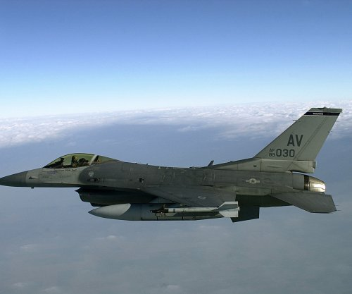 F-16 crashes at U.S. Air Force base in Nevada