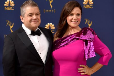Patton Oswalt marks year of marriage to Meredith Salenger
