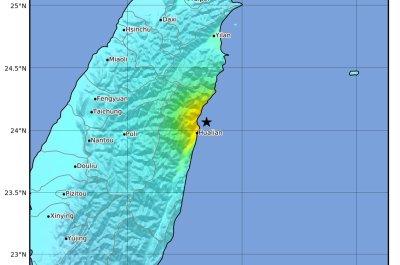 6.1-magnitude earthquake shakes Taiwan