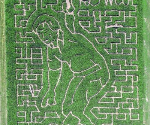 Ohio corn maze paus tribute to Jack Nicklaus