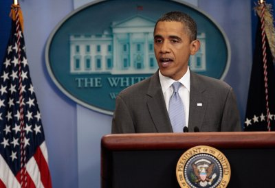 Obama's schedule for Monday, Aug. 1