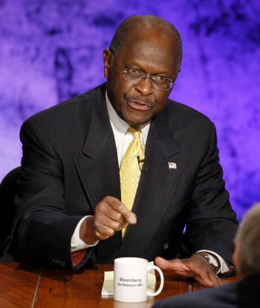 Cain leads Republican pack in NBC/WSJ poll
