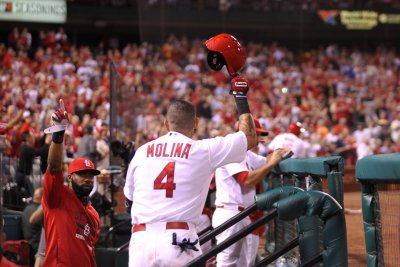 Yadier Molina's 100th career HR carries St. Louis Cardinals past San Francisco Giants