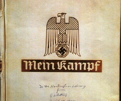 Autographed copy of 'Mein Kampf' to hit the auction block in New York