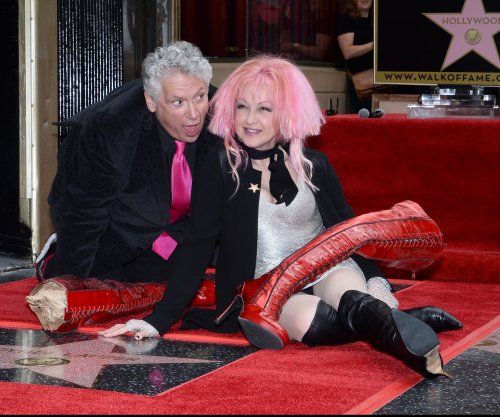 Cyndi Lauper, Harvey Fierstein get stars on Walk of Fame