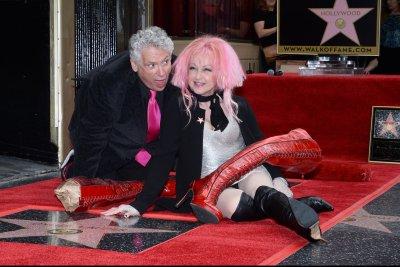 Cyndi Lauper, Harvey Fierstein get stars on Walk of Fame