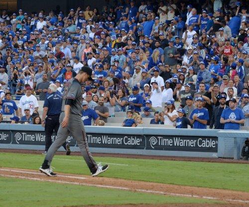 Los Angeles Dodgers smash Arizona Diamondbacks' Zack Greinke