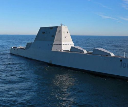 Batman meets Star Trek on the USS Zumwalt; stealthy ship joins Naval fleet
