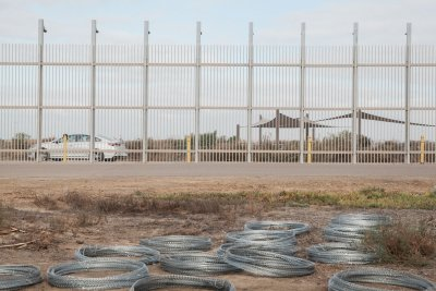 Concertina wire stolen from U.S.-Mexico border at Tijuana