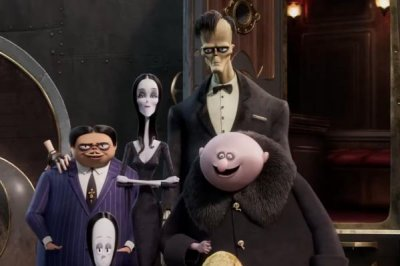 'The Addams Family' hit the road in new trailer for animated sequel