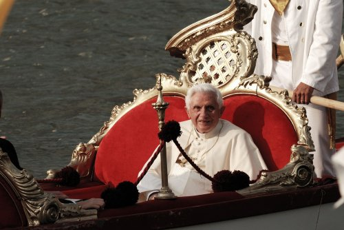 Pope Benedict visits German home