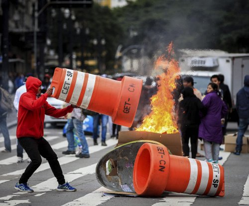 Brazilian cities largely shut down in austerity protests