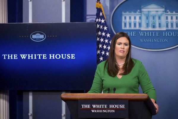 Watch live: Sarah Huckabee Sanders gives daily news ...