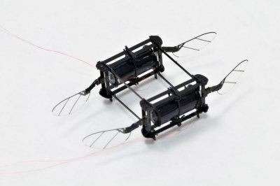 New soft-muscled RoboBee is accident proof