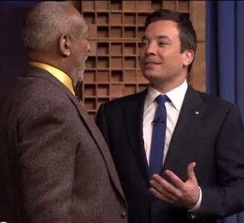 Jimmy Fallon impersonates Bill Cosby to his face [VIDEO]