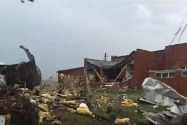 Ford Racing Parts >> Tornado damages fire department, school in Goodman, Mo ...