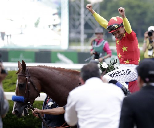 UPI Horse Racing Roundup: Justify becomes 13th Triple Crown winner