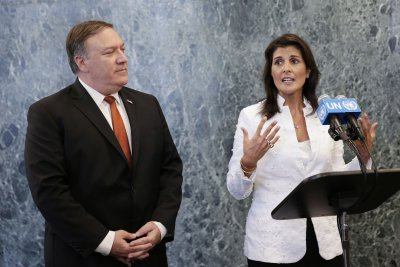 Pompeo, Haley call out China, Russia for oil transfers to North Korea