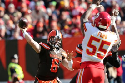 Browns QB Baker Mayfield in comfort zone after coaching change
